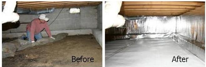 Exceptionnel Lexington, KY Crawlspace Waterproofing U0026 Repair
